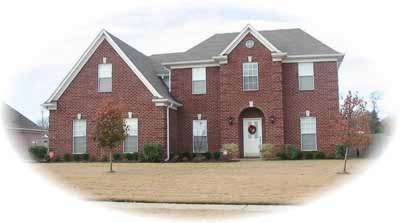Southern Style Home Design Plan: 6-681