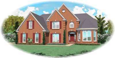Traditional Style Floor Plans Plan: 6-688