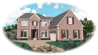 Traditional Style House Plans Plan: 6-695