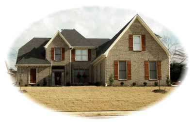 Traditional Style Home Design Plan: 6-697