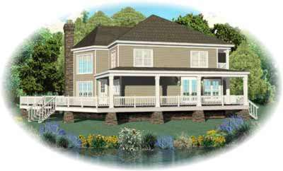 Traditional Style Home Design Plan: 6-705