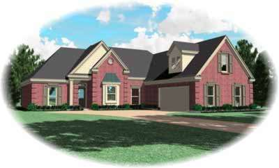 Traditional Style Floor Plans Plan: 6-714