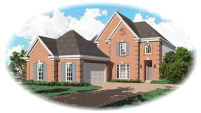 Traditional Style Floor Plans Plan: 6-721