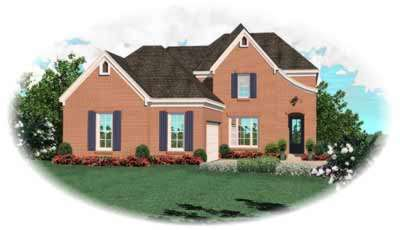French-country Style House Plans Plan: 6-722