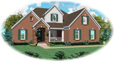 Traditional Style House Plans Plan: 6-738