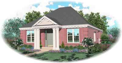 Southern Style Floor Plans Plan: 6-749