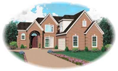 European Style House Plans Plan: 6-753