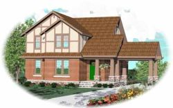 Bungalow Style House Plans Plan: 6-760