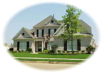 Traditional Style Home Design Plan: 6-783