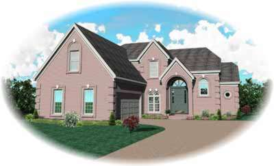 European Style Floor Plans Plan: 6-788