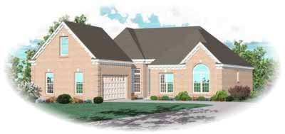 Traditional Style Floor Plans Plan: 6-791