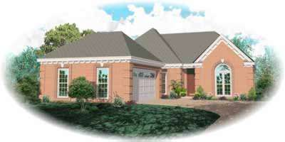 Traditional Style Floor Plans Plan: 6-793