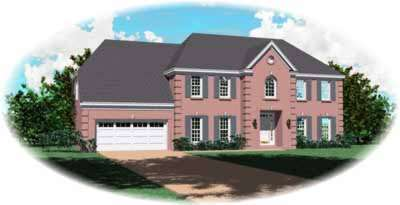 European Style Floor Plans Plan: 6-799