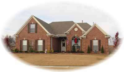 Traditional Style Home Design Plan: 6-811