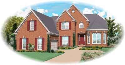 Traditional Style House Plans Plan: 6-830