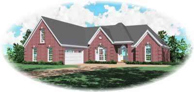 Traditional Style Floor Plans Plan: 6-846