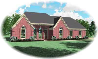 European Style House Plans Plan: 6-858