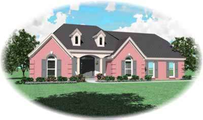 Southern Style House Plans Plan: 6-862