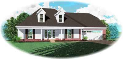 Southern Style Floor Plans Plan: 6-863