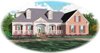 Southern Style Floor Plans Plan: 6-865