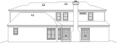 Rear Elevation Plan: 6-865