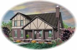 Craftsman Style Floor Plans Plan: 6-871