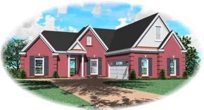 Traditional Style Floor Plans 6-875