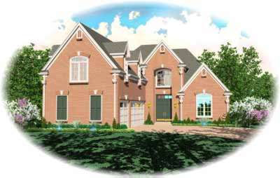 European Style Floor Plans Plan: 6-876