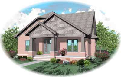 Craftsman Style Floor Plans Plan: 6-877