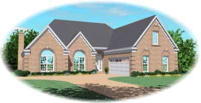 Traditional Style House Plans Plan: 6-882