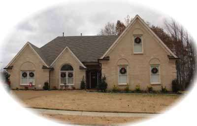 Traditional Style Home Design Plan: 6-883