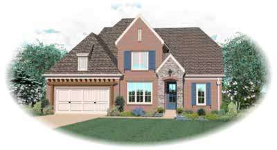 Traditional Style House Plans Plan: 6-887