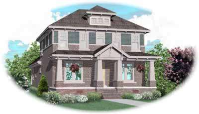 Craftsman Style House Plans Plan: 6-889