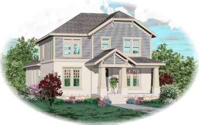 Bungalow Style House Plans Plan: 6-896