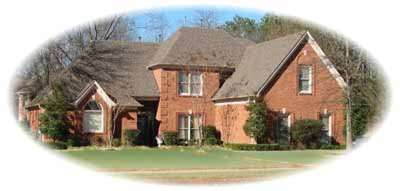 Traditional Style Home Design Plan: 6-898