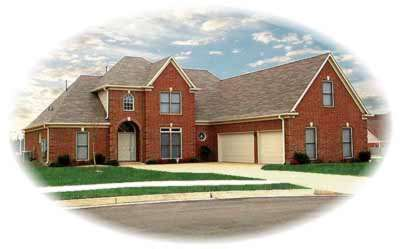 Traditional Style Home Design Plan: 6-903