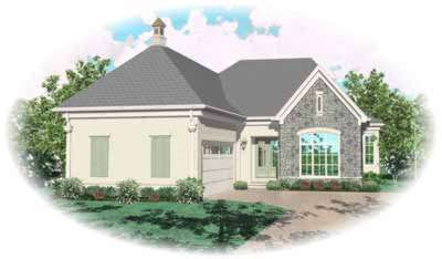 Traditional Style Home Design Plan: 6-922