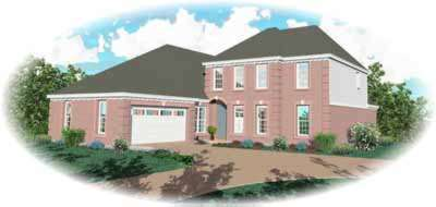 European Style House Plans Plan: 6-925