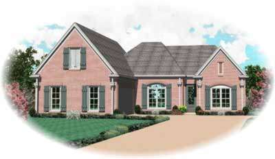 Traditional Style Floor Plans Plan: 6-934