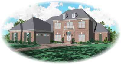 Early-american Style House Plans Plan: 6-939