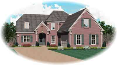 Traditional Style House Plans Plan: 6-961