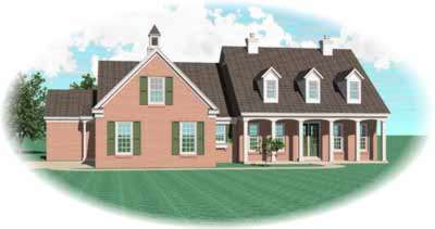Southern Style House Plans 6-992