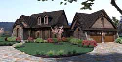 Craftsman Style Home Design Plan: 61-101