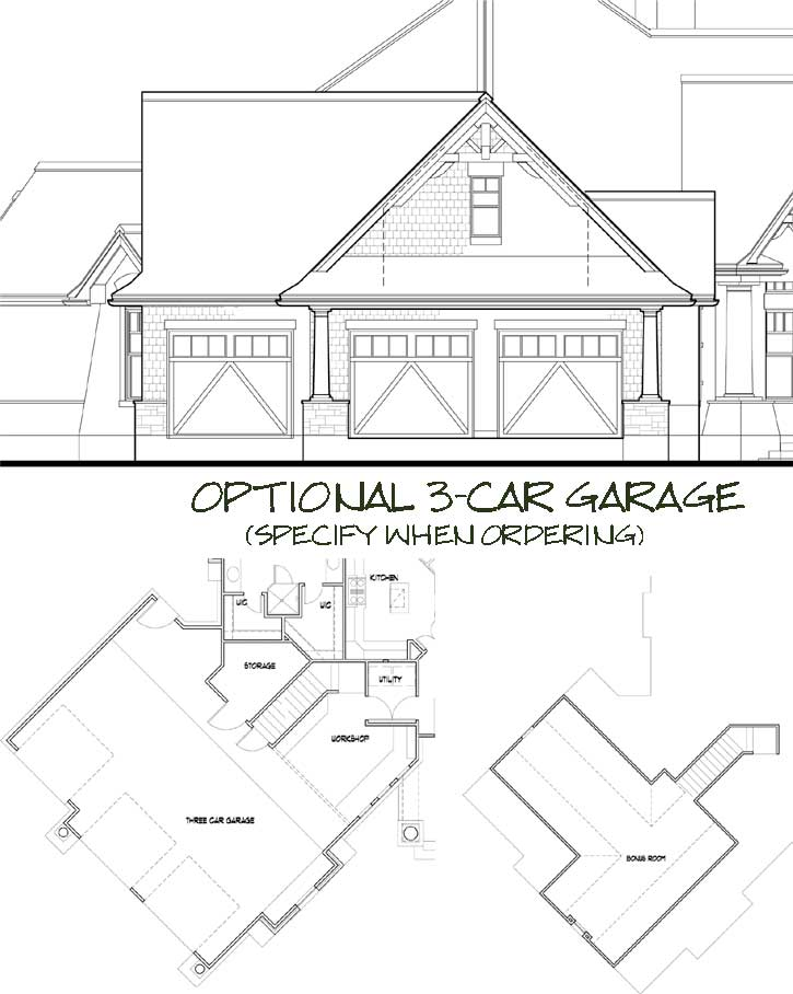Craftsman Style House Plans 61-108