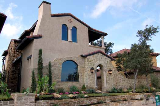 Mediterranean Style House Plans Plan: 61-110