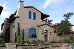 Mediterranean Style House Plans Plan: 61-110