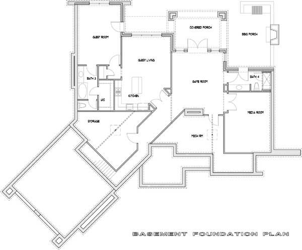 Lower Floor Plan: 61-114
