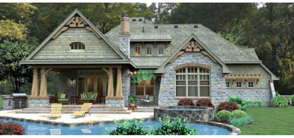 Mountain-or-rustic Style Floor Plans