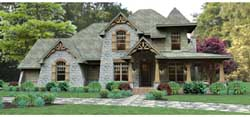 Mountain-or-Rustic Style Floor Plans Plan: 61-115