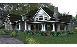 Bungalow Style Floor Plans Plan: 61-116